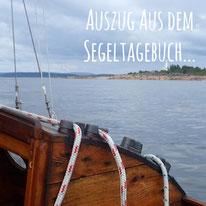 Blogpost: Auszug aus dem Segeltagebuch auf schwedenundso.de
