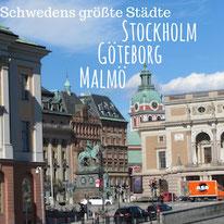 Blogpost: Schwedens größte Städte - Stockholm, Göteborg und Malmö auf schwedenundso.de