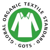 Logo GOTS Zertifizierung