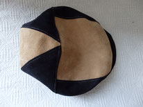 HT23 cuir et suédine noir