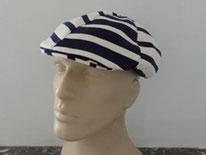 casquette rayé marin