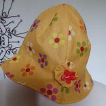 PH04 chapeau de pluie doublé coton
