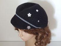 casquette noire béret