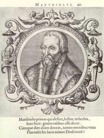 Pietro Andrea Mattioli 1501-1577