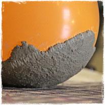 Herstellung einer Betonkugel