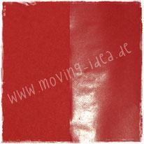 Rotes Seidenpapier Vorderseite glänzend, Rückseite matt