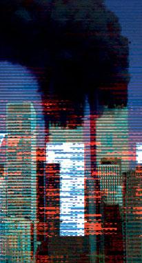 Duo Christian Fischer, Guido Kühn, 9/11, interaktive Medienkunst, Ausschnitt