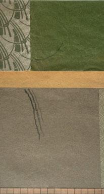 Gerhard Deeg, o.T., 2020, 15×10cm, Collage, Ausschnitt