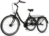 Pfau Tec Proven Dreirad und Elektro-Dreirad für Erwachsene - Shopping-Dreirad 2017