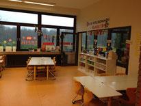 Klassenraum und Gruppenraum