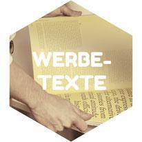 Werbetexte Werbung Text Flyer Broschüre PR Pressetext