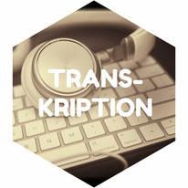 Transkribieren Diktat Audiodatei Verschriftlichen