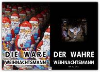 Poster Plakat Weihnachtsmann Jesus