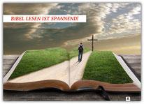 Poster Plakat Bibel spannend 3