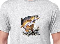 tee shirt economique peche de la truite
