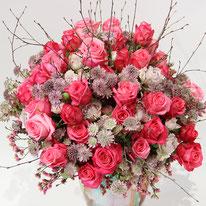 Magnifiques roses branchues