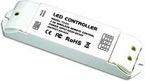 REC-R4-5A - Descripción: Controlador MASTER, Receptor inalámbrico, 5AX4CH, Distancia máxima 50m. Consumo: 100W/240W/480W Voltaje de Operación: 5V/12V/24V CD