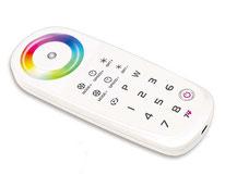"""CRGB-1603-X - Descripción: Emisor-Control Remoto. Controla un número ilimitado de Receptores \""""1600\"""". Cuenta con programa (DIY) Para crear modos usted mismo. - Voltaje de Operación: 5V CD"""