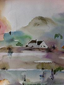Jacques HASQUENOPH, Maison sous le mont Chauve