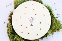Bild: DIY Ideen für die Hochzeit - Ringkissen Alternative basteln