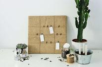 Bild: DIY Ideen für die Hochzeit - Gästebuch mal anders als Upcycling Memoboard