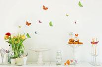 Bild: DIY Deko Ideen für Ostern selber basteln // Dekoration aus Geschenkpapier