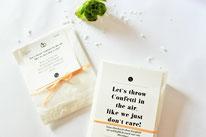 Bild: Kreative Ideen und Rezepte mit Konfetti und Funfetti vom Kreativblog Partystories.de // Konfetti als Geschenk für die Party oder Hochzeit einfach in Papiertüten verpacken