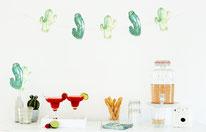 Bild: DIY Party Deko basteln - Kaktus Party Ideen zum selber machen vom DIY Deko Blog Partystories