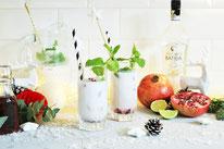 Bild: Rezept Kaffee Cocktail - Espresso Martini mit salted Karamell als Aperitif für den Winter, Advent, Weihnachten oder Silvester mixen // Rezept und Fotos vom Kreativ Blog partystories.de