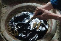 伝統製法で製作された和ろうそく