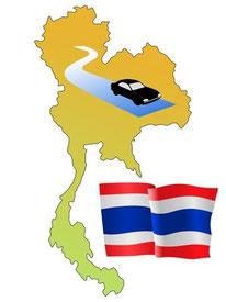 Thailand - Mietwagen mit Fahrer