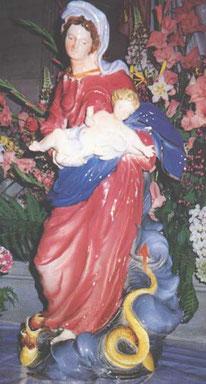 Photo de la Vierge des Faïenciers