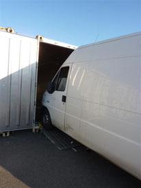 Transport de camion par conteneur France-Réunion avec Long-Cours