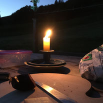 Kerzenschein, Freiheit, Auszeit auf der Alp, Ronald Kalbermatten, Der Coach