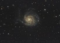 M 101  -  Feuerrad-Galaxie