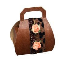 Handtaschen Schachtel braun