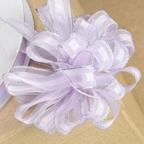Ziehschleifenband rosa