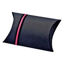 Pillow Box, Kissen Schachtel schwarz