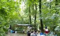 Les Tas De Nature, mini Camp, Morlaàs, Forêt de Lahitau