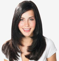 Bild: Haarverdichtung Model Tophair Nina