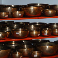 singing bowls in Overtone shop nearby by susannemtaylor
