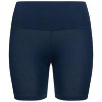 Yoga Shorts Radlerhose navy blau