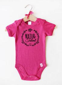 """Babybody pink """"Naturtalent"""" - nähfein"""