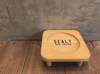 Whim ウィム シーリー  Dog Salon Sealy オリジナルグッズ トリミング フードテーブル