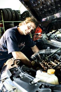 Fahrzeug bei Reparatur durch Markus Fischer