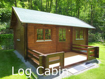 Camping Carpe Diem rental log cabin