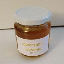 Löwenzahn-Latwerge  210 ml  Fr.6.00
