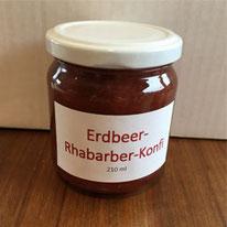 Erdbeer-Rhabarber-Konfitüre 210 ml  Fr.4.50
