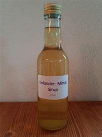 Holunder-Minze-Sirup 3.5 dl  Fr.5.00