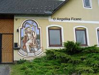 Wandbilder, Heilige © Mag. Angelika Ficenc